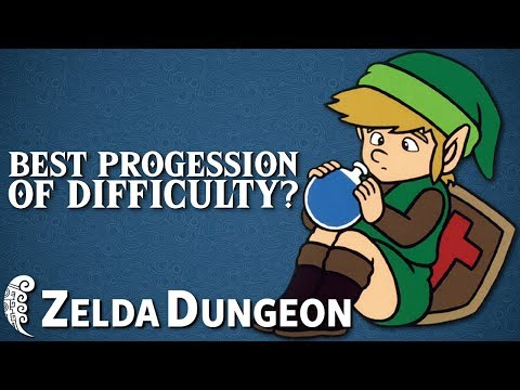 Progression of Difficulty in the Original Legend of Zelda - Hyrule Compendium