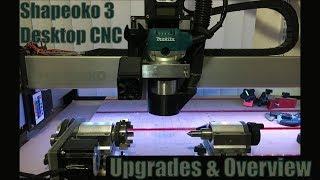 Make4 - Our Shapeoko XL machining aluminum