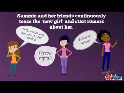 Anti-Bullying Video Poster