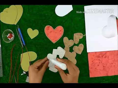 how to make romantic handmade gift/present for boyfriend/birthday/christmas/handmade greeting cards