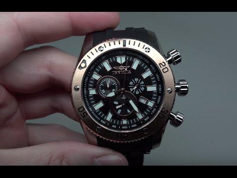 Invicta Sea Spider Chronograph Men's Watch Model: 10246