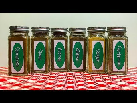 Top Six Baking Spices ~ Sweet or Savory ~ Spice Rack Essentials ~ Top Six List ~ Noreen's Kitchen