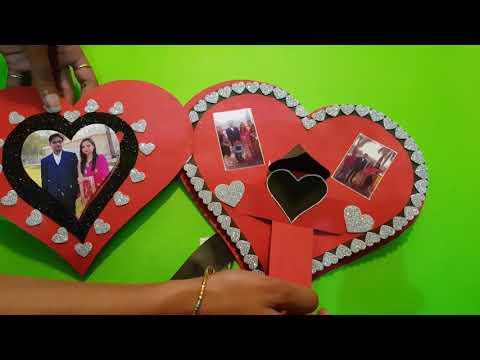 Best Handmade card | heart card | handmade card for your husband /boyfriend