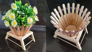 popsicle stick flower vase Videos - 9tube.tv on ice cream sticks lamps, ice cream sticks crafts, ice cream sticks chair,