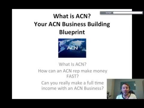 What is ACN? And how does an ACN rep Build their ACN business FAST?