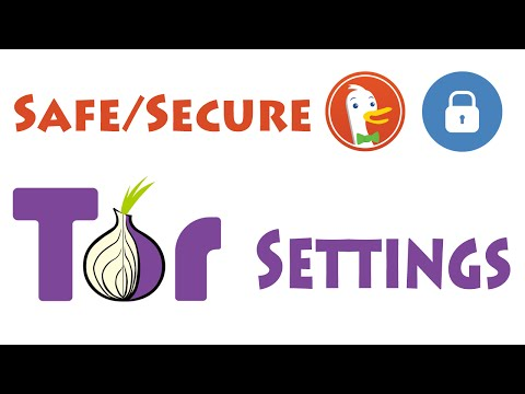 Tor Setup MOST Secure/Safe Settings: Approaching Anonymity