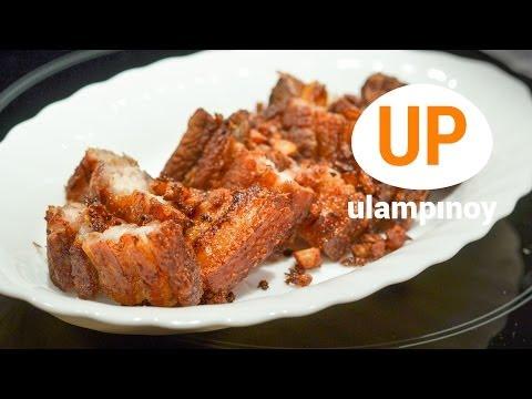 Crispy Garlic PORK BELLY — Ulam Pinoy #31【HD】