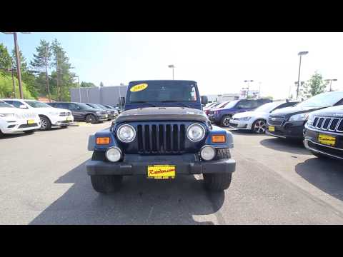 2005 Jeep Wrangler Unlimited | Patriot Blue Pearl Coat | 5P385358 | Redmond | Seattle |