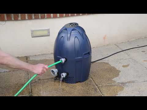 Lay-Z-Spa Pump/Heater - How to Backwash your Pump (Helps with EO2 & EO5)