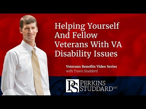 Helping Yourself And Fellow Veterans With VA Disability Issues