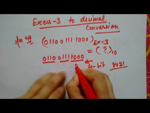 Excess3 to Decimal |easy |short |simple