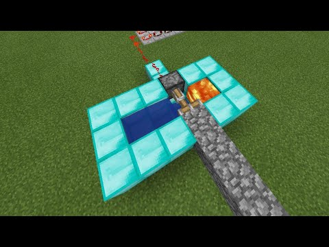 How to build a Cobblestone Generator in Minecraft PE (SIMPLE & EASY)