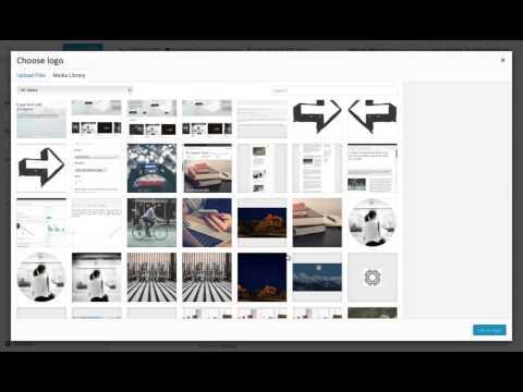 Entrepreneur WordPress Theme: Setting the Site Logo, Title, and Tagline (Step 2)