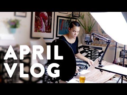 Isolating Myself For an Intense Week of Work · APRIL VLOG