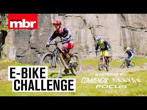 e-Bike Challenge | Commencal, Canyon & Focus | Mountain Bike Rider