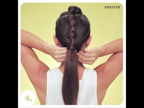 High Twisted ponytail