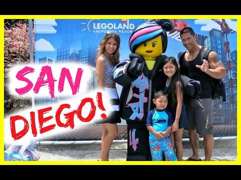 San Diego Vlog! Zoo, Legoland & SeaWorld!