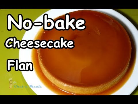 No-bake Cheesecake Flan w/ Complete Costing