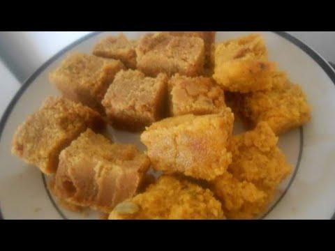 Mauritian Besan Mehsoor Recipe