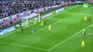 Barcelona vs Villareal 3-0 La Liga Season 2015-2016