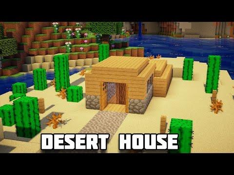 Minecraft: How to Build an Underground Desert House