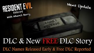 RESIDENT EVIL 7 NEWS | FREE DLC This Spring & Main DLC Update | Season Pass/Deluxe Info