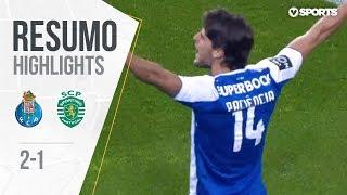 FC Porto 2-1 Sporting (25ªJ): Resumo