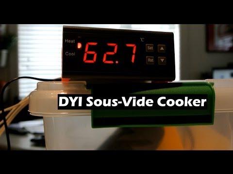 DIY Sous-Vide Cooker Controller Part 1 - The Build