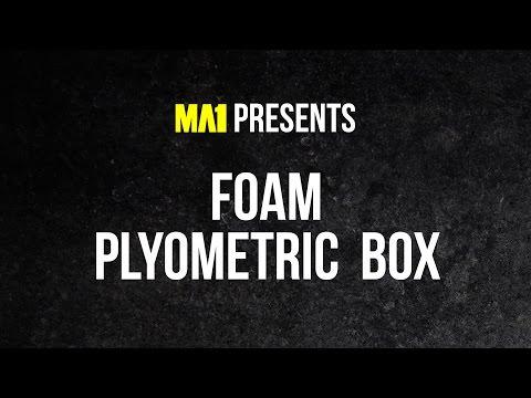 MA1 Foam Plyo Box