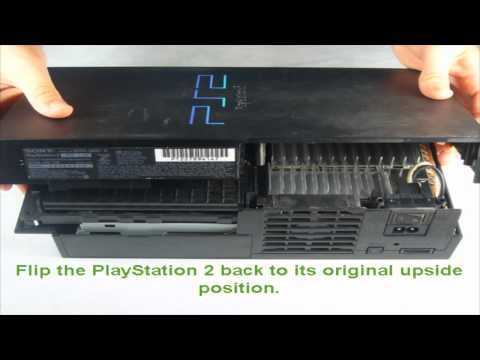 PlayStation 2 Optical Disc Drive Lens Cleaning [HD]
