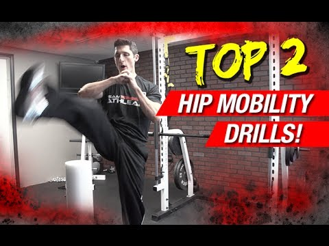 Top 2 Hip Mobility Drills (ELITE ATHLETES DO THESE!)