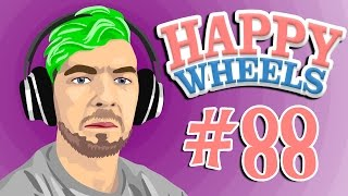 LAWNMOWER LAUNCHING LARRY | Happy Wheels - Part 88