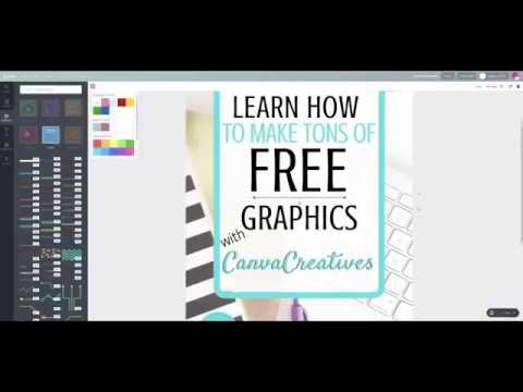 Create a blank line in Canva