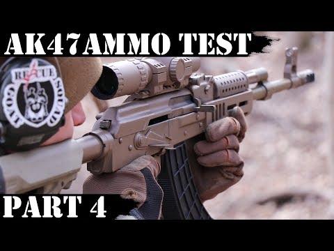 AK47 Ammo Test Part 4: PPU, Golden Bear & Barnaul White Box