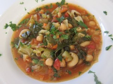 MINESTRONE SOUP | ITALIAN VEGETARIAN STYLE | Healthy Recipe
