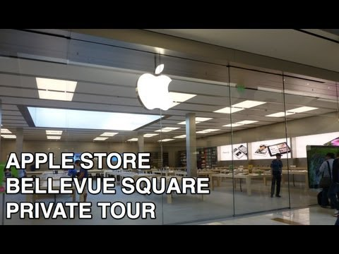 Exclusive Private Tour: Apple Store Bellevue Square Grand Re-opening