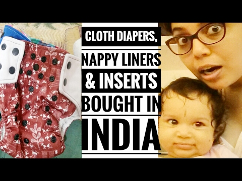 My cloth diapers and nappy liners bought in india | Infant care | Buying for newborn