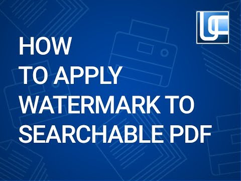 How to add watermarks to PDF in 5 steps