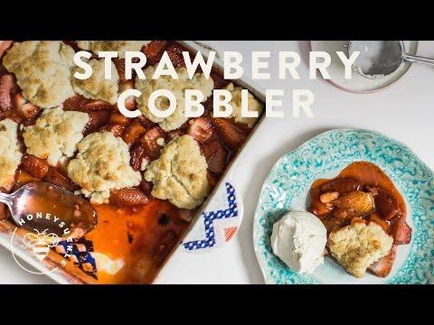 FAST Strawberry Cobbler - Honeysuckle
