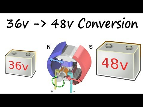 Club Car Golf Cart Build | 36v to 48v Conversion [part 2] | Installing New Electrical Components