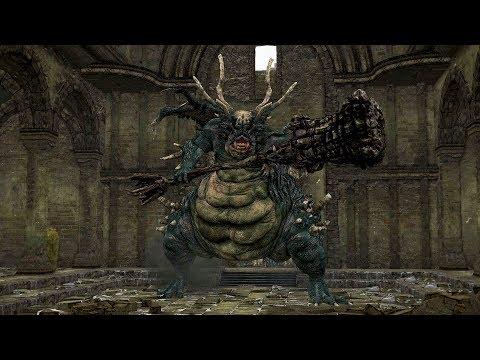 Dark Souls: Remastered - Asylum Demon (First Encounter) - SOLO, NO DAMAGE