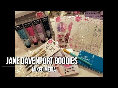 Jane Davenport Goodies | Mixed Media