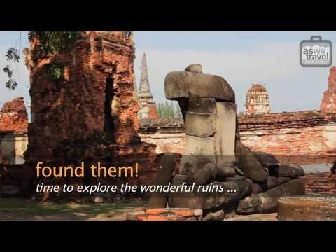 Bangkok to Ayutthaya, Thailand As We Travel Asia