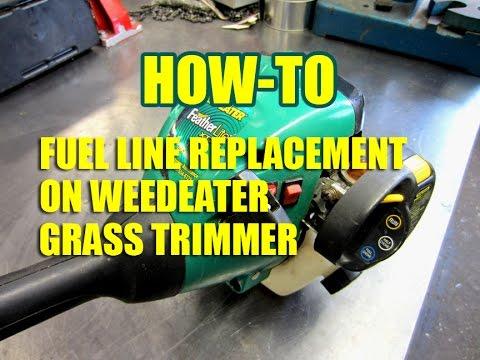 DIY - Weedeater Fuel Line Replacement