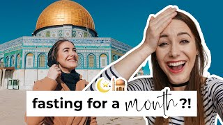 Fasting Ramadan For The First Time 🕌 | Non-Muslim Vlog 2020