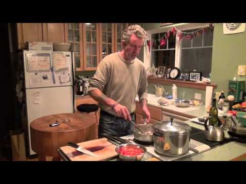 Chef Hobbes Presents:  Fresh Tomato Pasta