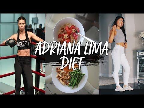 I Ate Like Adriana Lima For a Day