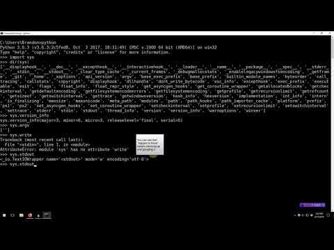 Learning Python 011: Importing/Module Basics