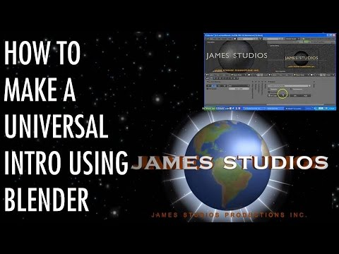 Universal Intro Done In Blender (Iceluciario2012 style) Tutorial