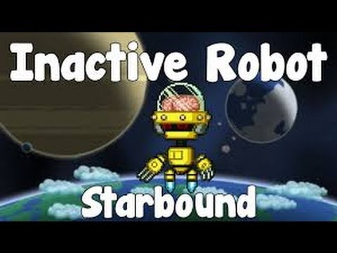 Starbound day 3: Inactive Robot crafting, boss fight and Gamma sector access